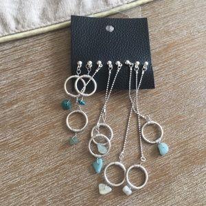 Free People Earrings Set